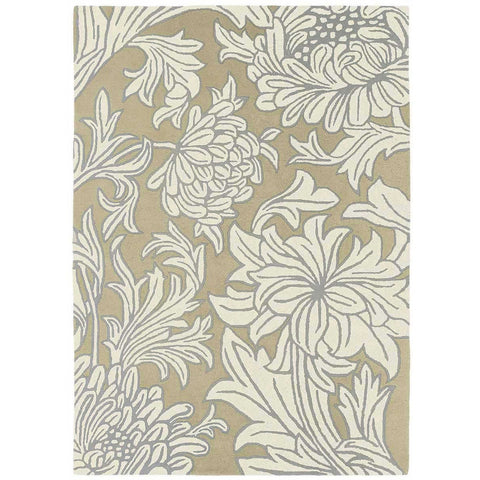 Morris & Co Chrysanthemum 27001 Designer Sisal / Canvas Wool Rug - Rugs Of Beauty
