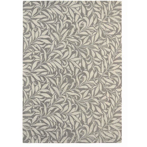 Morris & Co Willow Bough Mole Modern Designer Rug - Rugs Of Beauty - 1