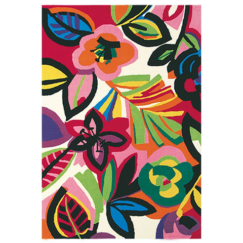 Brink & Campman Xian Passion Floral Design Rug - Rugs Of Beauty