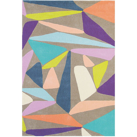 Brink & Campman Xian Triangle 77608 Designer Rug - Rugs Of Beauty