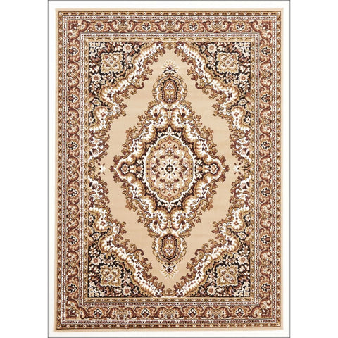 Traditional Medallion Rug Beige - Rugs Of Beauty - 1