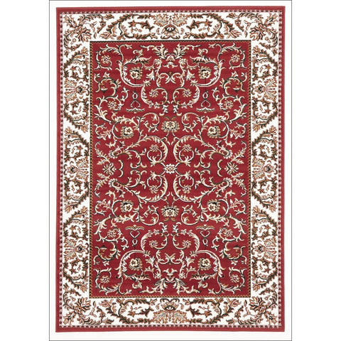 Classic Pattern Rug Red - Rugs Of Beauty - 1