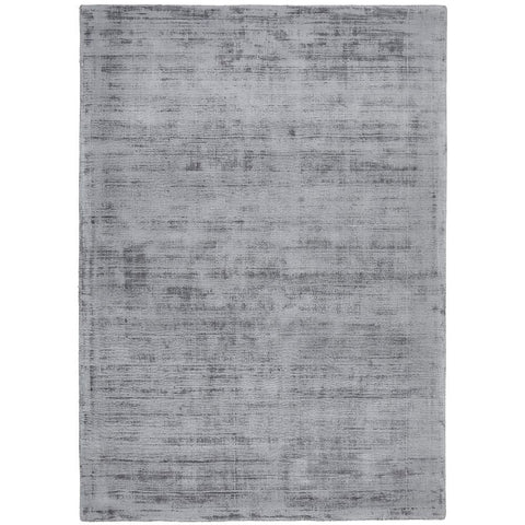 Caen 703 Grey Modern Hand Loomed Viscose Rug - Rugs Of Beauty - 1