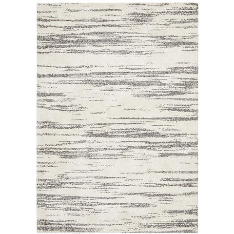 Boden 783 Charcoal Grey Beige Contemporary Plush Geometric Rug - Rugs Of Beauty - 1