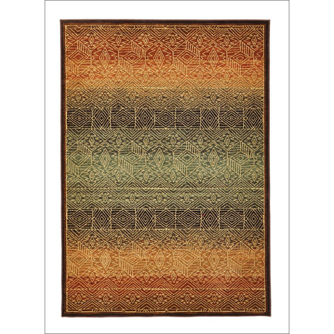 Tribal Design Rug Brown - Rugs Of Beauty