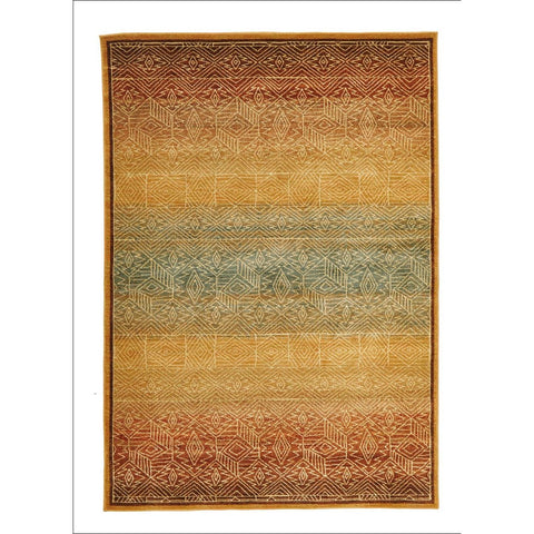 Tribal Design Rug Gold - Rugs Of Beauty