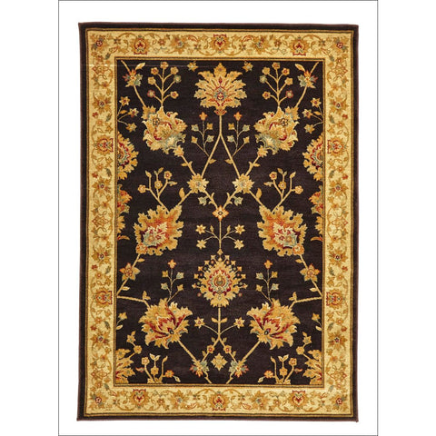 Classic Chobi Design Rug Brown - Rugs Of Beauty