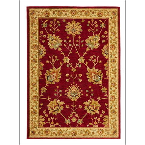 Classic Chobi Design Rug Red - Rugs Of Beauty