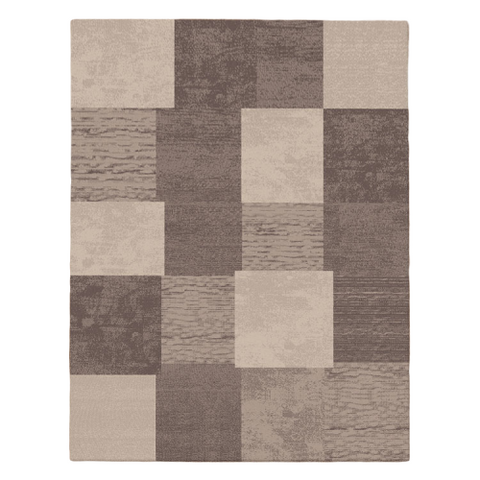 Grantham 1475 Brown Patterned Modern Rug - Rugs Of Beauty - 1