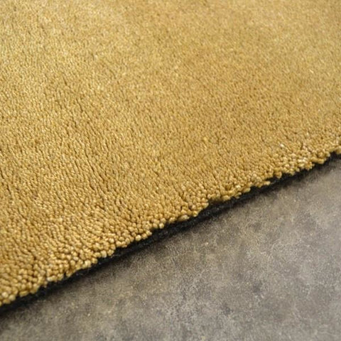 Brink & Campman Hermitage 21906 Gold Designer Shaggy Wool Rug - Rugs Of Beauty - 1