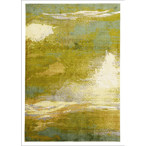 Monet Stunning Green Rug - Rugs Of Beauty - 1