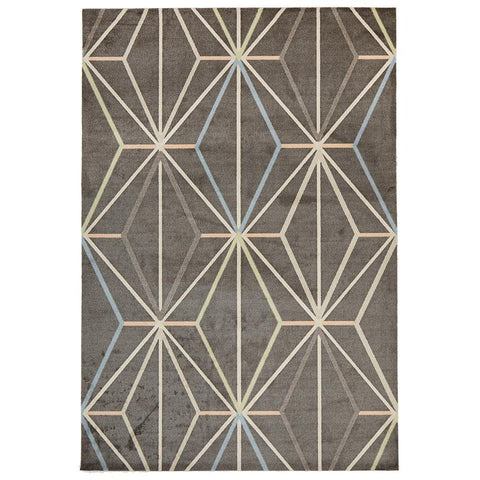 City 573 Taupe Designer Rug - Rugs Of Beauty - 1