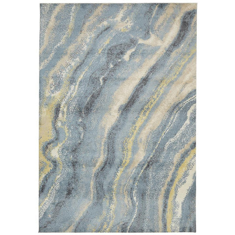 City 575 Blue Designer Rug - Rugs Of Beauty - 1