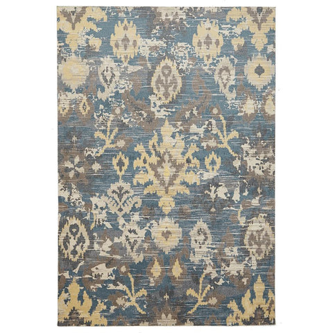 City 577 Yellow Designer Rug - Rugs Of Beauty - 1