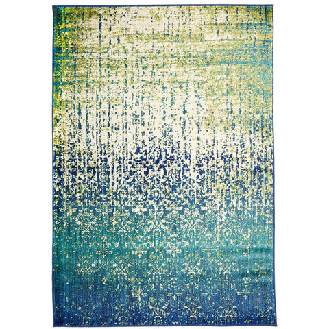 Sale Monsa Aqua Blue Green Transitional Abstract Rug   Rugs Of Beauty   1