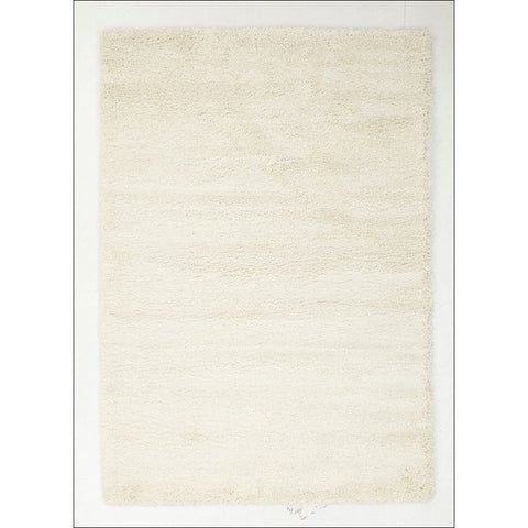 Casablanca Plain White Soft Plush Shaggy Rug - Rugs Of Beauty