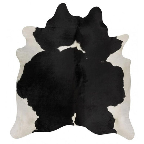 Premium Brazilian Cowhide Black White - Rugs Of Beauty - 1