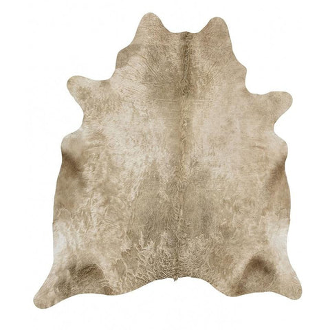 Premium Brazilian Cowhide Champagne - Rugs Of Beauty - 1