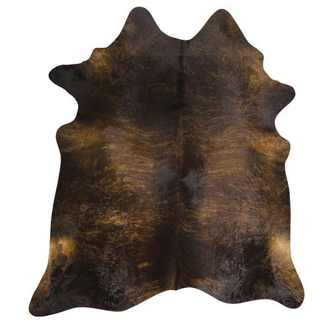 Premium Brazilian Cowhide Dark Brindle - Rugs Of Beauty
