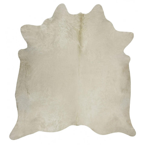 Premium Brazilian Cowhide Solid White - Rugs Of Beauty
