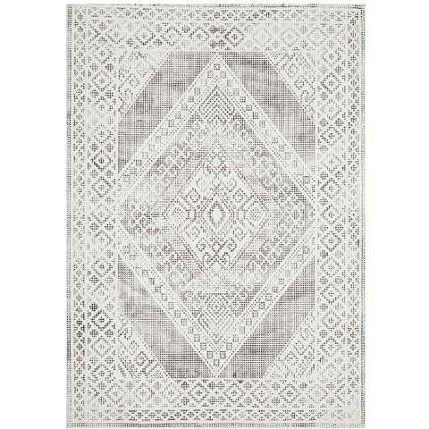 Dalsbruk 280 Black and White Transitional Rug - Rugs Of Beauty - 1