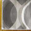 Caldwell Beige Thick Wave Abstract Patterned Modern Rug - 2