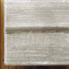 Caldwell Cream Taupe Abstract Patterned Modern Rug - 3