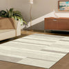 Caldwell Cream Taupe Abstract Patterned Modern Rug - 2