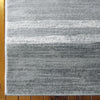 Caldwell Grey White Abstract Patterned Modern Rug - 4