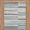 Caldwell Grey White Abstract Patterned Modern Rug - 6