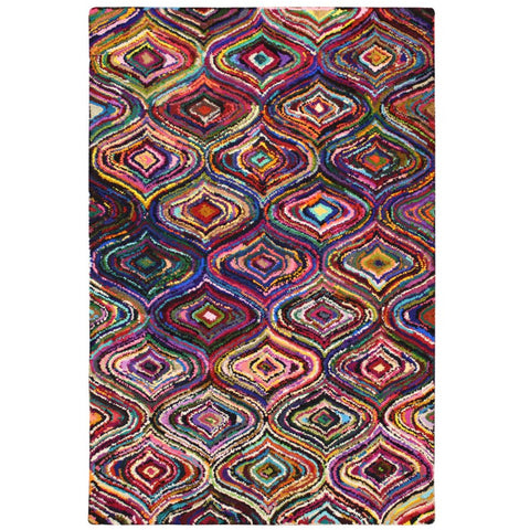 Baraz Multi Colour Palace Patterned Rug - Rugs Of Beauty