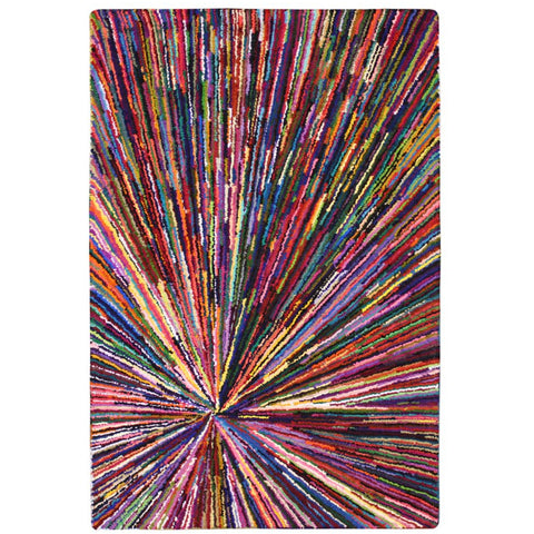 Baraz Multi Colour Splash Patterned Rug - Rugs Of Beauty