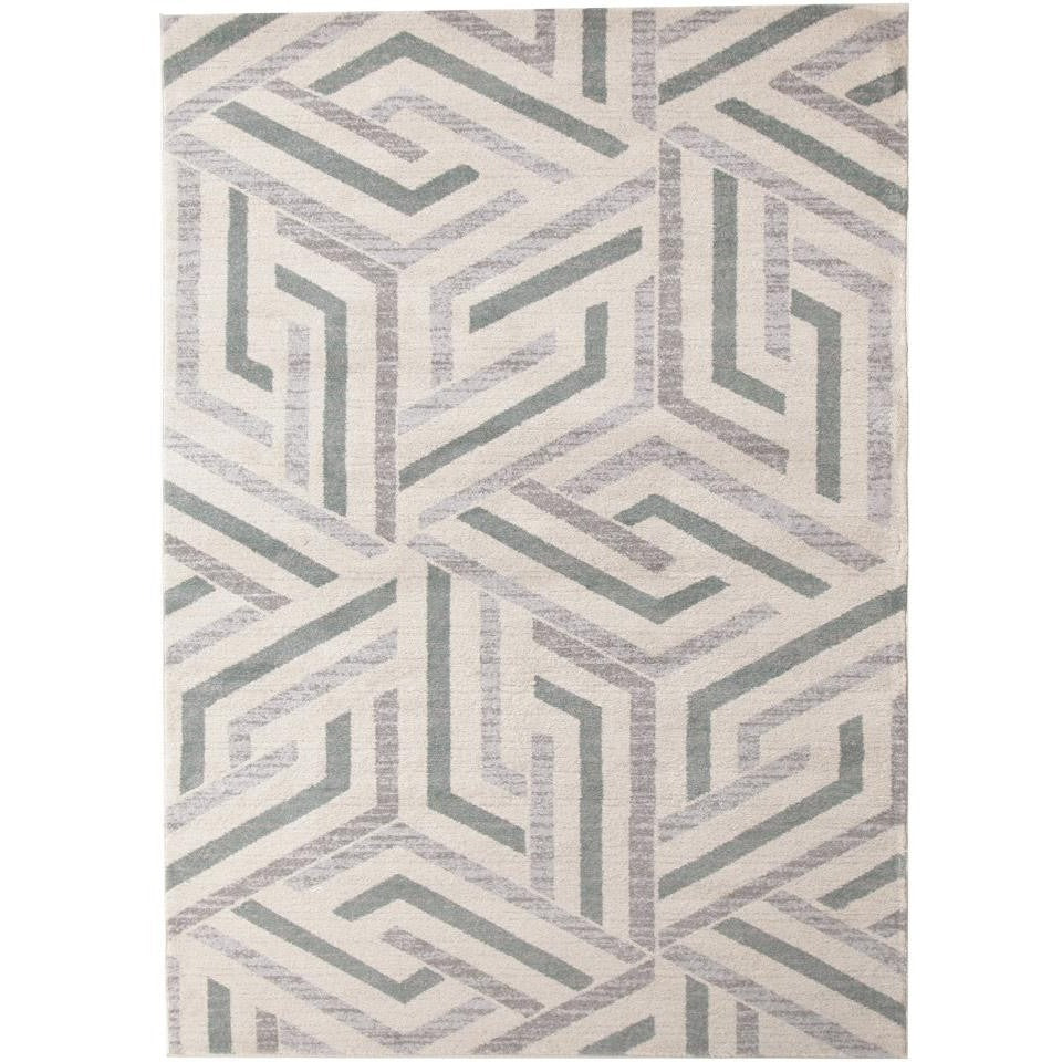 6f7c60d1a7d Lima Grey Blue Beige Abstract Lines Geometric Patterned Modern Rug - Rugs  Of Beauty ...
