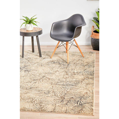 Dream Scape 854 Charcoal Designer RugяЛП - Rugs Of Beauty - 1