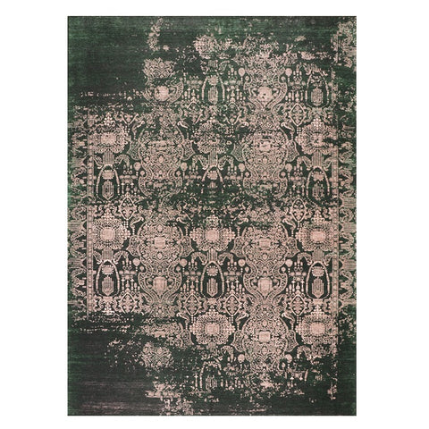 Winchester 478 Green Patterned Transitional Rug - Rugs Of Beauty - 1