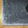 Dover Grey Beige Black Abstract Wave Pattern Dark Grey Modern Rug - 5