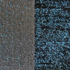 Dover Grey Blue Black Abstract Patchwork Modern Rug - 4