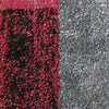 Dover Red Black Grey Beige Abstract Patchwork Modern Rug - 3