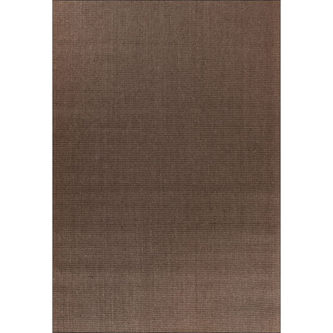 Columbo Eco Friendly Natural Sisal Boucle Patterned Dark Brown Flatweave Rug - Rugs Of Beauty - 1