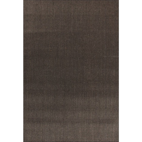 Columbo Eco Friendly Natural Sisal Boucle Patterned Charcoal Grey Flatweave Rug - Rugs Of Beauty - 1