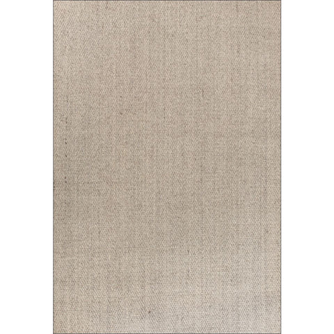 Columbo Eco Friendly Natural Sisal Herringbone Patterned Marble Flatweave Rug - Rugs Of Beauty - 1