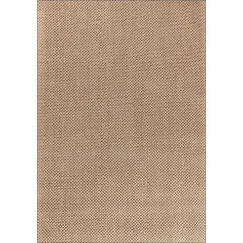 Columbo Eco Friendly Natural Sisal Tiger Eye Patterned Light Brown Flatweave Rug - Rugs Of Beauty - 1