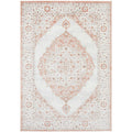 Tomsk 1202 Peach Ivory Transitional Patterned Rug