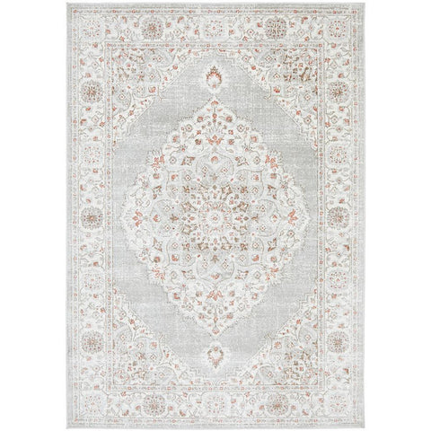 Tomsk 1202 Rose Beige Transitional Patterned Rug - Rugs Of Beauty - 1