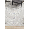 Tomsk 1202 Grey Blue Transitional Patterned Rug - Rugs Of Beauty - 4
