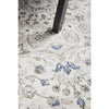 Tomsk 1202 Grey Blue Transitional Patterned Rug - Rugs Of Beauty - 10