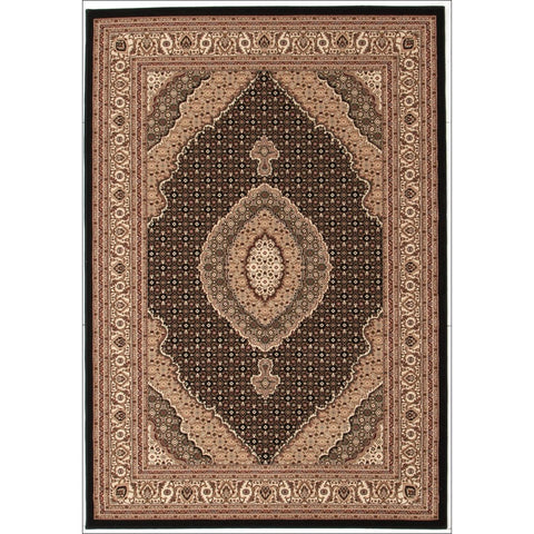 Stunning Formal Oriental Design Rug Black - Rugs Of Beauty