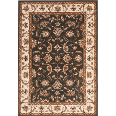 Stunning Formal Floral Design Rug Green - Rugs Of Beauty