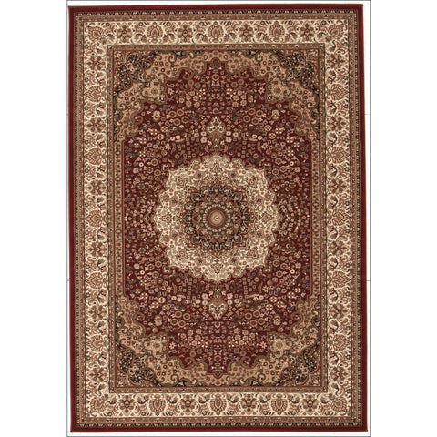 Stunning Formal Medallion Design Rug Red - Rugs Of Beauty
