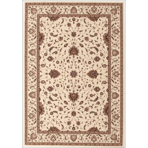 Stunning Formal Classic Design Rug Cream - Rugs Of Beauty